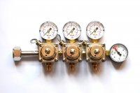 Redukční ventil CO2 - 3 vývody